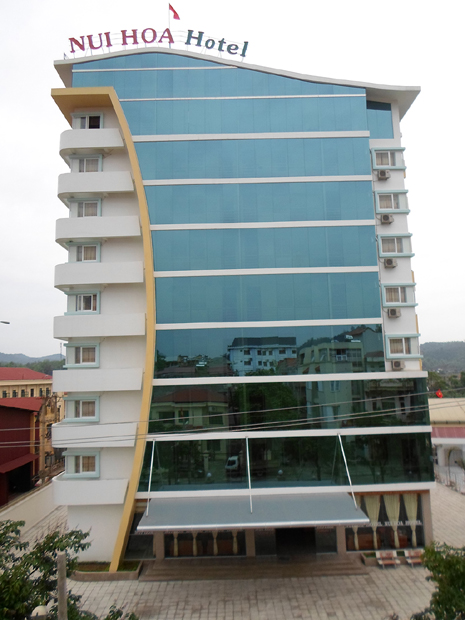 Nui Hoa hotel in Bac Kan town