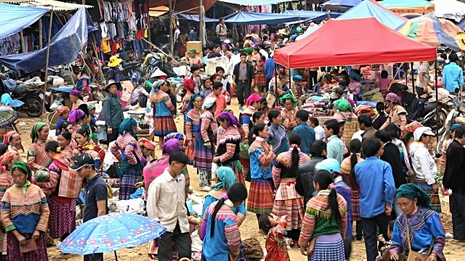 Hill tribe markets in northern Vietnam